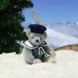 Little Cabin Boy 13 cm Teddy Bear by Hermann-Coburg