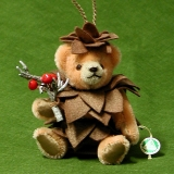 Little Pine Cone 13 cm Teddy Bear by Hermann-Coburg
