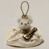 Angel Symphony 13 cm Teddy Bear by Hermann-Coburg