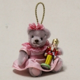 Clara and the Nutcracker  13 cm Teddy Bear by Hermann-Coburg