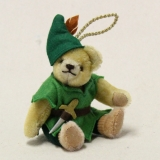 Teddy Peter Pan 13 cm Teddy Bear by Hermann-Coburg