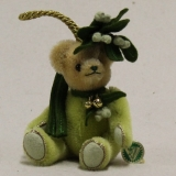 Little Mistletoe 13 cm Teddy Bear by Hermann-Coburg