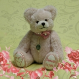 Sweetie – Valentine Bear 2015 24 cm Teddy Bear by Hermann-Coburg