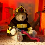 Firefighter  36 cm Teddy Bear by Hermann-Coburg