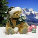 Kleiner Tannenbaum - Little Christmastree 33 cm Teddybär von Hermann-Coburg