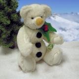 Ein Schneemann zum Knutschen 30 cm Teddybär von Hermann-Coburg