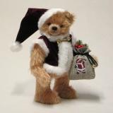 Here Comes Santa Claus 36 cm Teddy Bear by Hermann-Coburg
