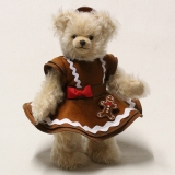 Sweet Gingerbread Lilly 33 cm Teddy Bear by Hermann-Coburg