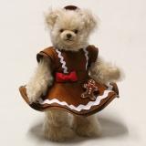 Sweet Gingerbread Lilly, das süße Lebkuchen Mädchen 33 cm Teddybär von Hermann-Coburg