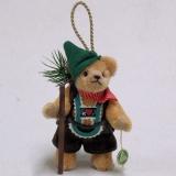 Ornament Set 2019 Jeder 13 cm Teddy Bear by Hermann-Coburg