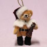 Little Christmas Musician 13 cm Teddy Bear by Hermann-Coburg