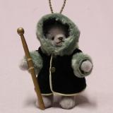 Little Winter Dreaming 13 cm Teddy Bear by Hermann-Coburg