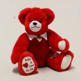 Teddy in Love 32 cm Teddybär von Hermann-Coburg